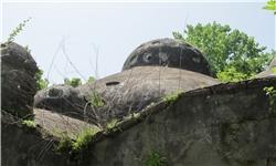 بقایای یک حمام قدیمی دوره قاجاریه در کوچصفهان شناسایی شد