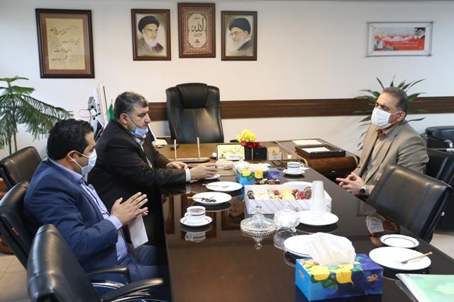 دیدار مدیر شرکت ملی پخش فرآورده های نفتی منطقه گیلان با نماینده صومعه سرا