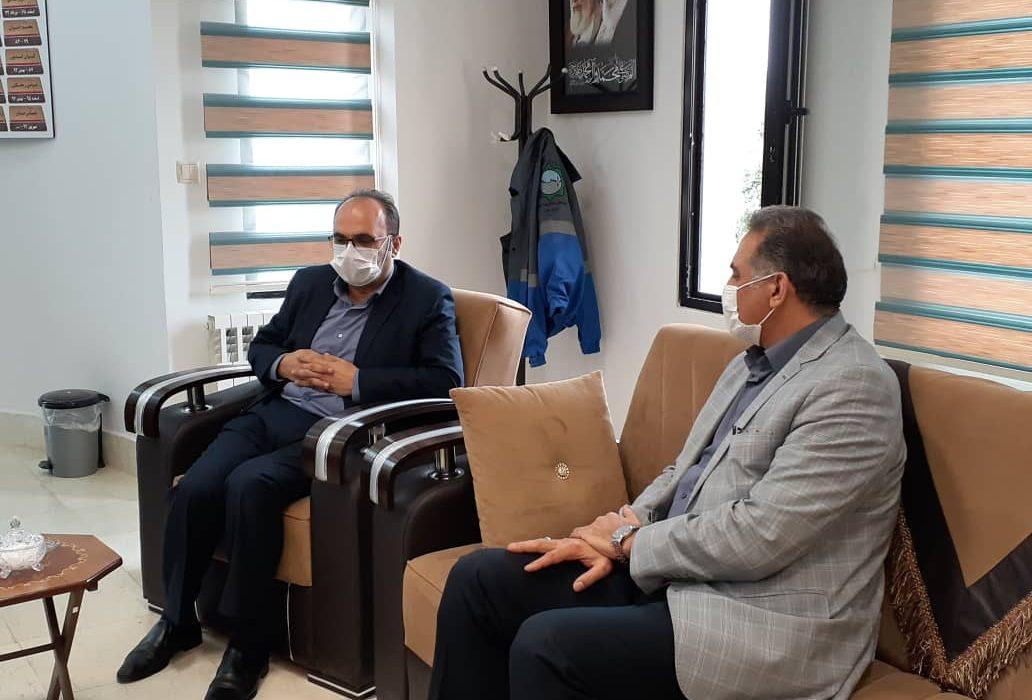 دیدار مدیر شرکت ملی پخش فرآورده های نفتی منطقه گیلان با فرماندار آستارا
