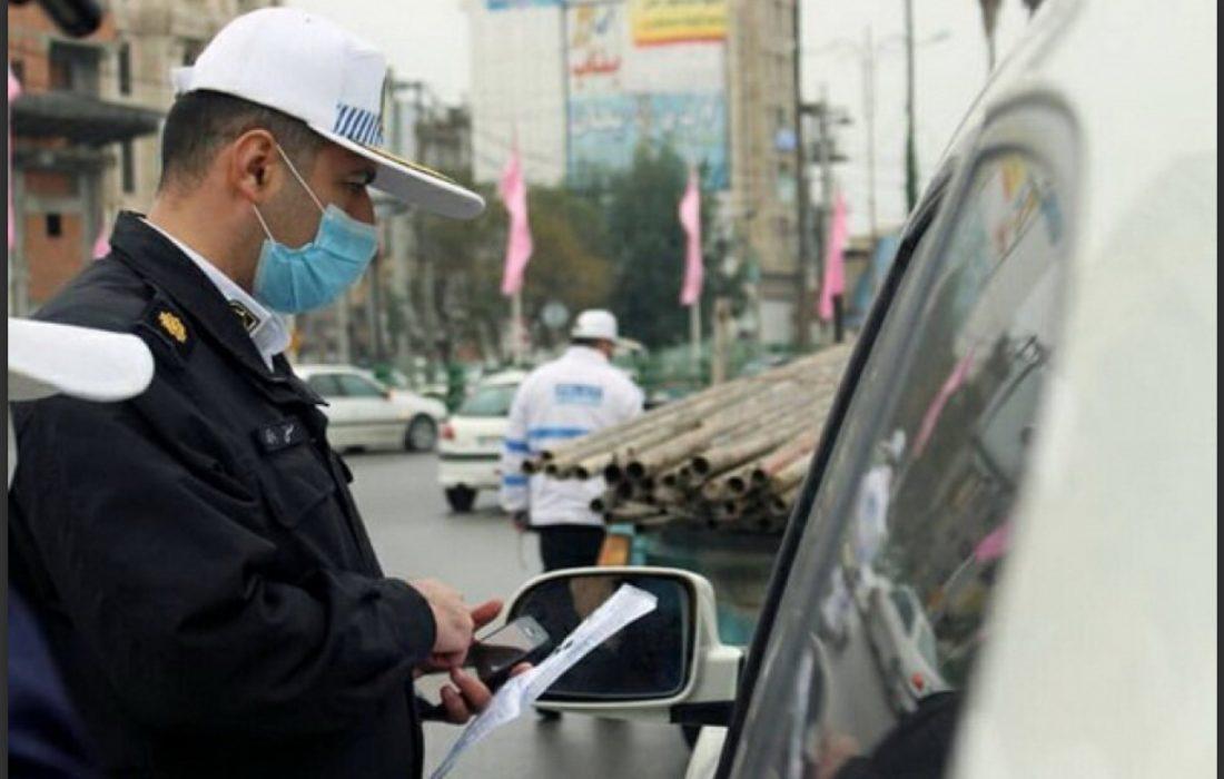 اعمال قانون بیش از ۹۰۰ خودروی متخلف در ورود به گیلان