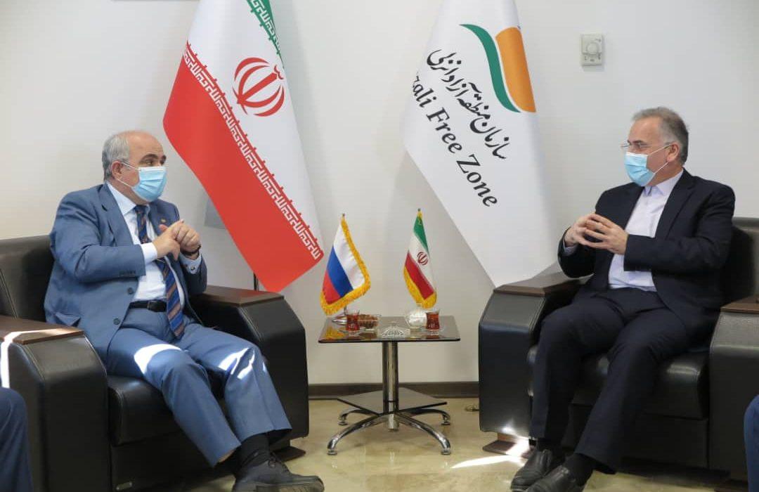 در دیدار سفیر روسیه در ایران با دکتر روزبهان، توافق شد: توسعه روابط دو کشور با محوریت منطقه آزاد انزلی/اتصال منطقه آزاد انزلی به راه آهن برای روسیه نیز بسیار مهم و حائز اهمیت است