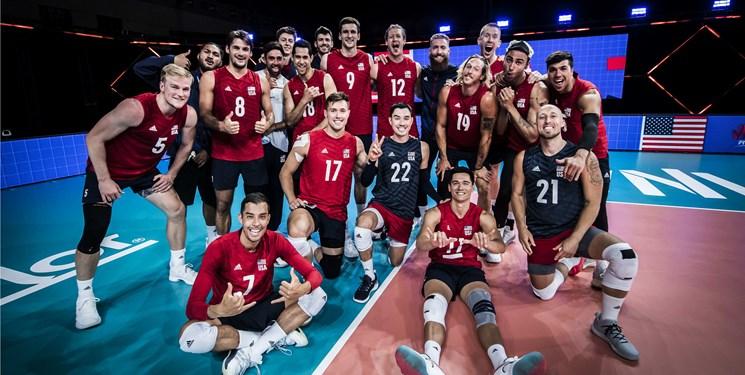 بررسی حریفان ایران در لیگ ملتهای والیبال