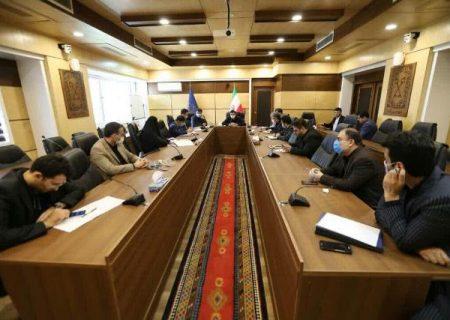 گزارش تصویری برگزاری جلسه شورای معاونین شهرداری با حضور دکتر ناصر حاج محمدی شهردار رشت