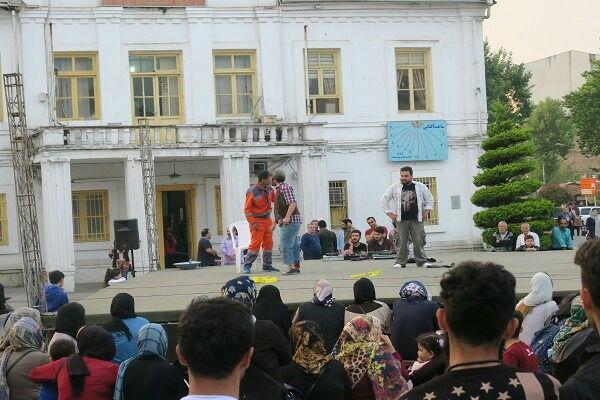 اجرای تئاتر «مجسمه» در هشتمین هفته از فصل دوم پروژه تئاتر خیابانی دائم