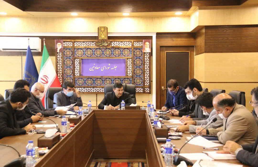 گزارش تصویری جلسه شورای معاونین شهرداری رشت